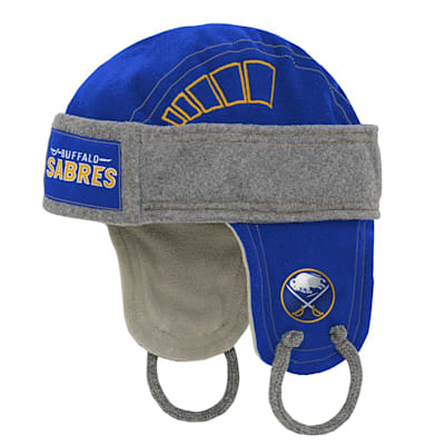 (Outerstuff Kids Fleece Hockey Helmet – Buffalo Sabres - Youth)