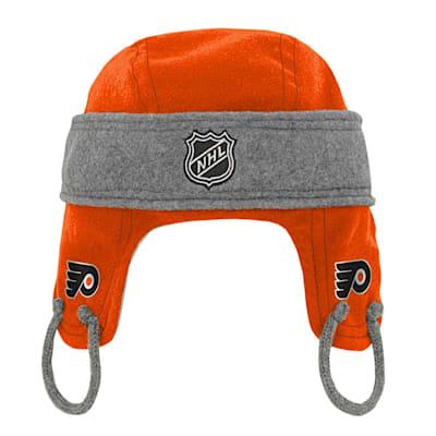 (Adidas Kids Fleece Hockey Helmet – Philadelphia Flyers - Youth)