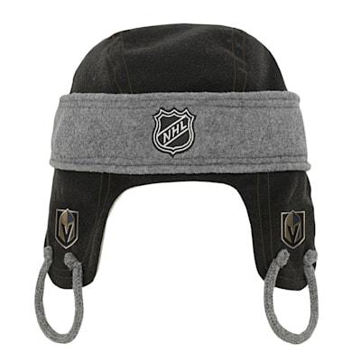 (Adidas Kids Fleece Hockey Helmet – Vegas Golden Knights - Youth)