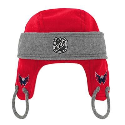 (Adidas Kids Fleece Hockey Helmet – Washington Capitals - Youth)