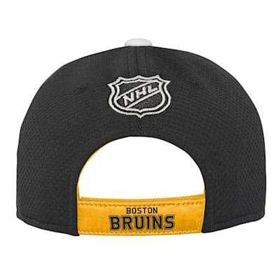 (Adidas Breakaway Structured Adjustable Hat – Boston Bruins - Youth)