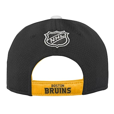 (Outerstuff Breakaway Structured Adjustable Hat – Boston Bruins - Youth)