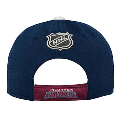 (Outerstuff Breakaway Structured Adjustable Hat – Colorado Avalanche - Youth)
