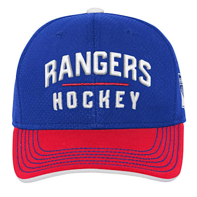 (Outerstuff Breakaway Structured Adjustable Hat – New York Rangers - Youth)