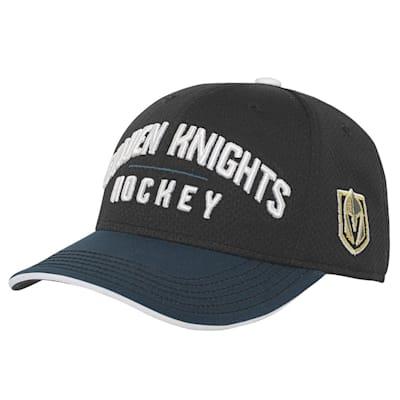 (Adidas Breakaway Structured Adjustable Hat – Vegas Golden Knights - Youth)
