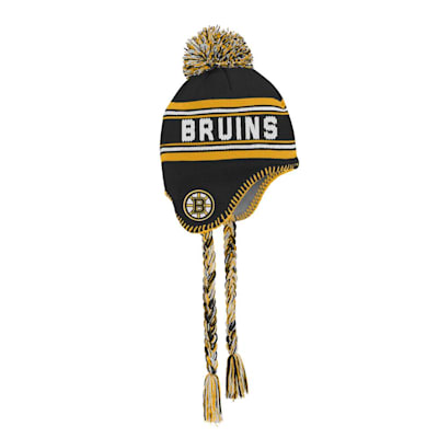 (Outerstuff Jacquard Tassel Knit With Pom - Boston Bruins - Youth)