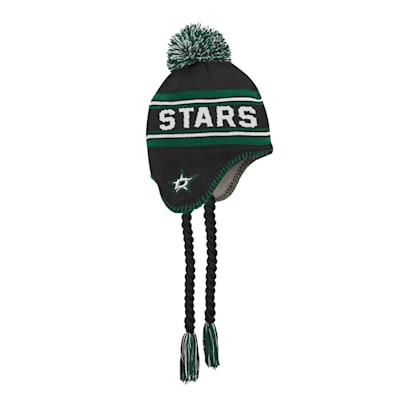 (Outerstuff Jacquard Tassel Knit With Pom - Dallas Stars - Youth)