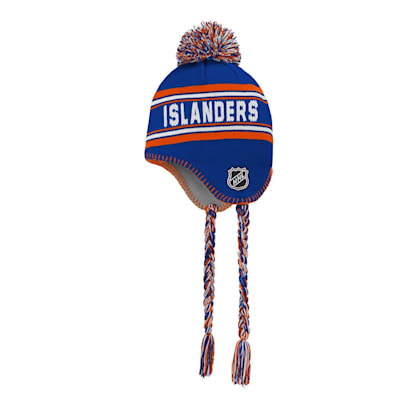(Outerstuff Jacquard Tassel Knit With Pom - New York Islanders - Youth)
