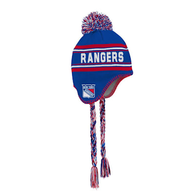 (Outerstuff Jacquard Tassel Knit With Pom - New York Rangers - Youth)
