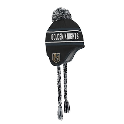(Outerstuff Jacquard Tassel Knit With Pom - Vegas Golden Knights - Youth)