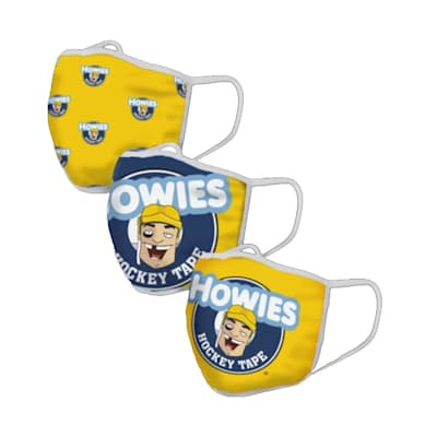 (Howies Face Mask Cover - 3 Pack)