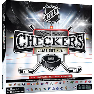 (MasterPieces NHL League Checkers Game)