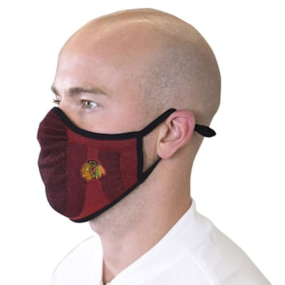 (Levelwear Guard 3 Face Mask- Chicago Blackhawks - Youth)