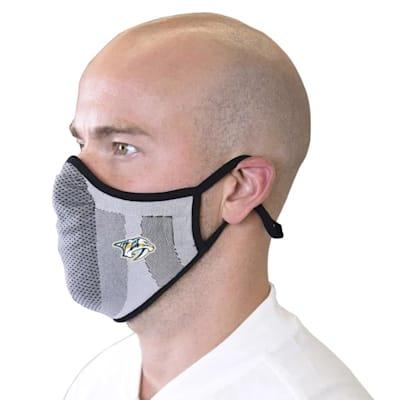 (Levelwear Guard 3 Face Mask- Nashville Predators - Youth)