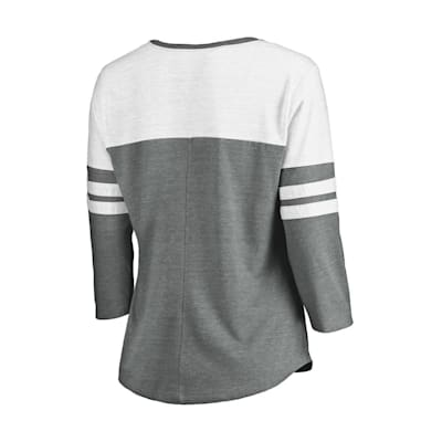 (Fanatics 3/4 Sleeve V-Neck T-Shirt - Seattle Kraken - Womens)