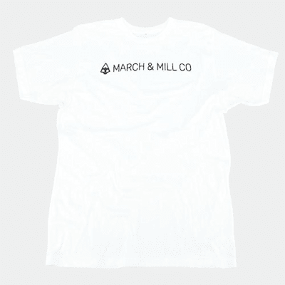 (March & Mill Co. The B&W Short Sleeve Tee Shirt - Adult)