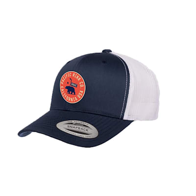 (Pacific Rink State Seal Retro Trucker Hat - Adult)