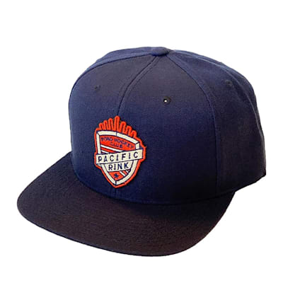 (Pacific Rink Pond Hockey Club Snapback Cap - Adult)