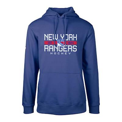 (Levelwear Dugout Podium Hoodie - New York Rangers - Adult)