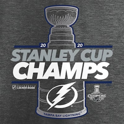 (Adidas Tampa Bay Lightning 2020 Stanley Cup Champions Locker Room Tee - Youth)