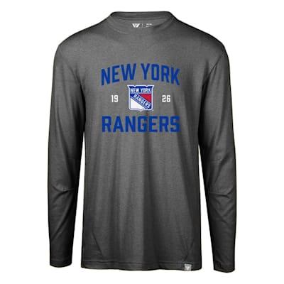 (Levelwear Fundamental Thrive Long Sleeve Tee Shirt - New York Rangers - Adult)