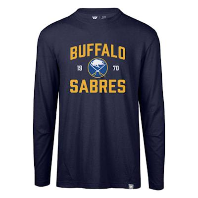 (Levelwear Fundamental Thrive Long Sleeve Tee Shirt - Buffalo Sabres - Adult)