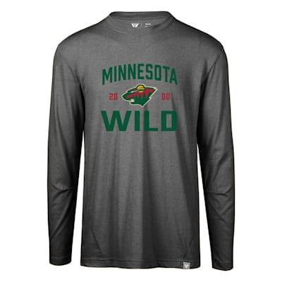 (Levelwear Fundamental Thrive Long Sleeve Tee Shirt - Minnesota Wild - Adult)
