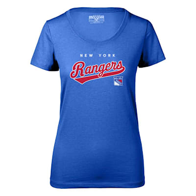 (Levelwear Tail Sweep Daily Short Sleeve Tee Shirt - New York Rangers - Womens)