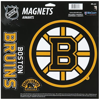 (Wincraft 3 Pack Magnet - Boston Bruins)