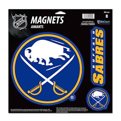 (Wincraft 3 Pack Magnet - Buffalo Sabres)