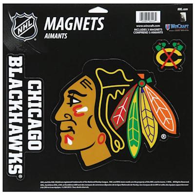 (Wincraft 3 Pack Magnet - Chicago Blackhawks)
