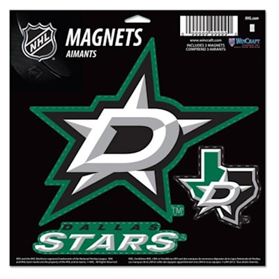 (Wincraft 3 Pack Magnet - Dallas Stars)