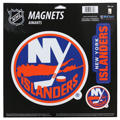 (Wincraft 3 Pack Magnet - NY Islanders)