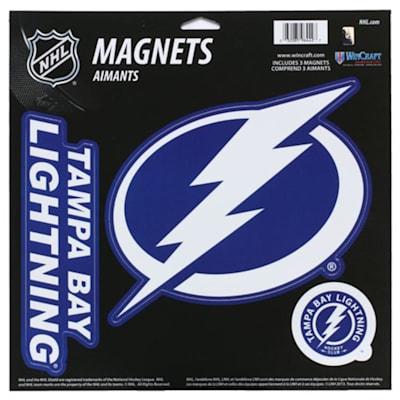 (Wincraft 3 Pack Magnet - Tampa Bay Lightning)
