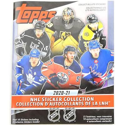 (Topps 2020/2021 NHL Sticker Collector Album)