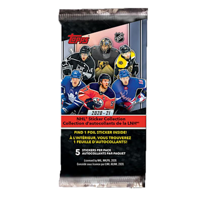 (Topps 2020/2021 NHL Sticker Pack)