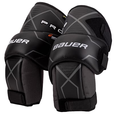 (Bauer Pro Goalie Knee Guards - Senior)