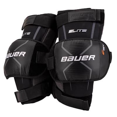 (Bauer Elite Goalie Knee Guards - Intermediate)