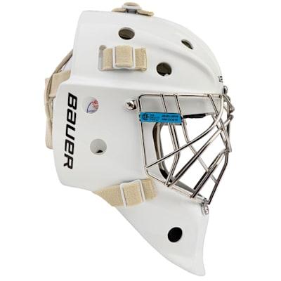 (Bauer Profile 940 Certified Cat Eye Goalie Mask - Senior)