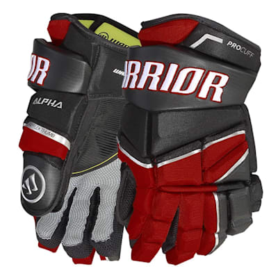 (Warrior Alpha LX Pro Hockey Gloves - Junior)