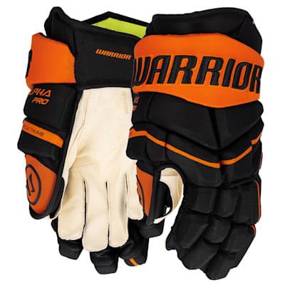 (Warrior Alpha Pro Hockey Gloves - Senior)