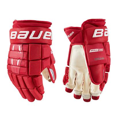 (Bauer Pro Series Hockey Gloves - Intermediate)