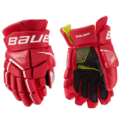 (Bauer Supreme 3S Hockey Gloves - Junior)
