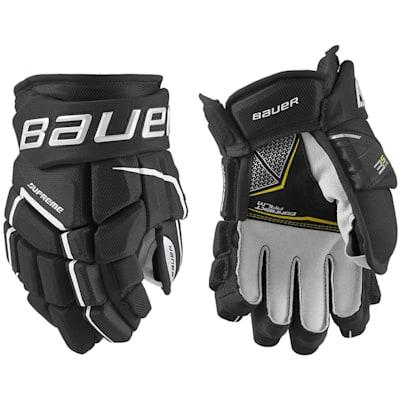 (Bauer Supreme 3S Pro Hockey Gloves - Junior)