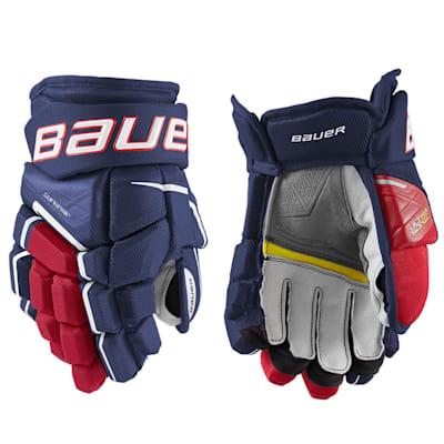 (Bauer Supreme Ultrasonic Hockey Gloves - Junior)