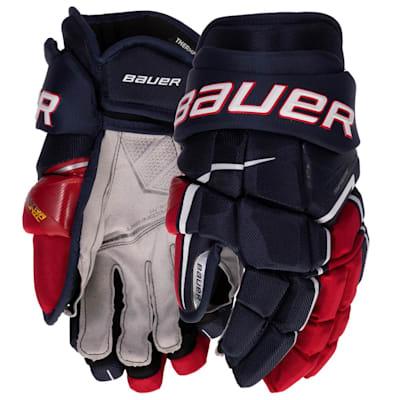 (Bauer Supreme Ultrasonic Hockey Gloves - Intermediate)