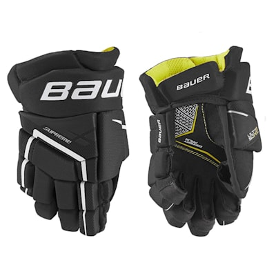 (Bauer Supreme Ultrasonic Hockey Gloves - Youth)