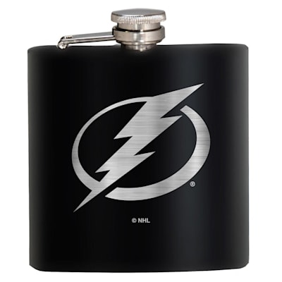 (Tampa Bay Lightning Stainless Steel Flask)
