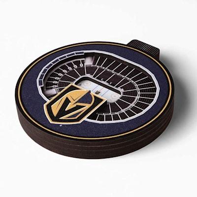 (YouTheFan NHL 3D StadiumView Ornament - Vegas Golden Knights)
