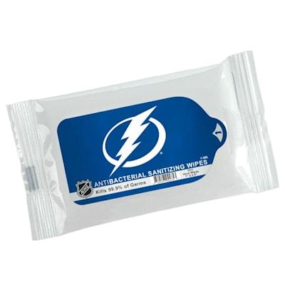 (Sanitizing Wipes- Tampa Bay Lightning)